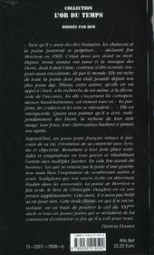 James douglas morrison ; la nuit du lezard - 4ème de couverture - Format classique