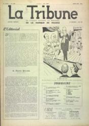 Tribune (La) N°396 du 01/04/1962 - Couverture - Format classique