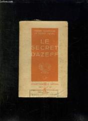 Le Secret D Azeff. - Couverture - Format classique
