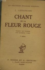Chant De La Fleur Rouge - Couverture - Format classique
