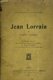 Jean Lorrain - Biographie Critique. - Couverture - Format classique