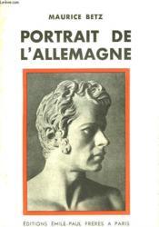 Portrait De L'Allemagne - Couverture - Format classique
