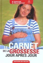 Le Carnet De Sante De La Grossesse - Intérieur - Format classique