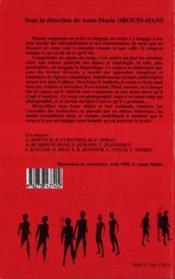 Le Corps Et Ses Discours - 4ème de couverture - Format classique