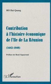 Contribution à l'histoire économique de l'île de la réunion - Intérieur - Format classique