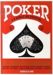 Poker ; la bible du joueur - Intérieur - Format classique