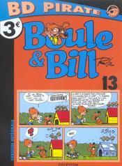 Boule & Bill T.13 ; carnet de Bill - Intérieur - Format classique