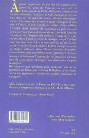 Pour violon seul ; souvenirs d'enfance dans l'en-deçà (1938-1945) - 4ème de couverture - Format classique
