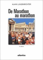 De Marathon au marathon (2e édition) - Couverture - Format classique