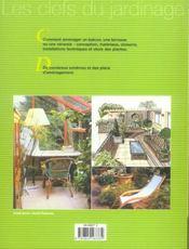 Terrasses, Balcons Et Verandas - 4ème de couverture - Format classique