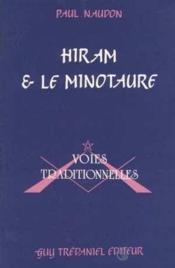 Hiram Et Le Minotaure - Couverture - Format classique