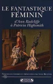 Le fantastique feminin - Couverture - Format classique