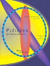 Pléiades de Yannis Xenakis - Intérieur - Format classique