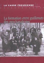 Cause Freudienne 52 - La Formation