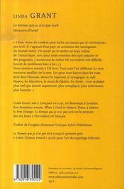 Le roman que je n'ai pas écrit ; mémoires d'israël - 4ème de couverture - Format classique