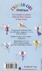 Les fées du ciel t.1 ; Marion la fée des flocons - 4ème de couverture - Format classique
