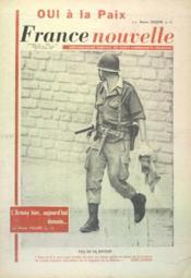 France Nouvelle N°859 du 04/04/1962 - Couverture - Format classique