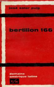 Bertillon 166. Roman Cubain. - Couverture - Format classique