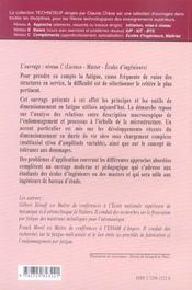 Materiaux Structures Fatigue Des Structures Endurance Criteres De Dimensionnement Propagation - 4ème de couverture - Format classique