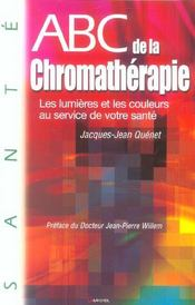Abc De La Chromatherapie - Intérieur - Format classique
