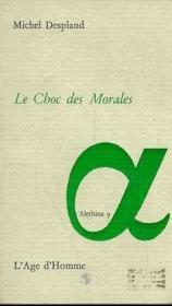 Le Choc Des Morales - Couverture - Format classique