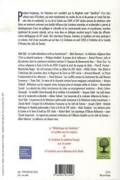 Entre orient et occident ; juifs et musulmans en Tunisie au XIXe siècle - 4ème de couverture - Format classique
