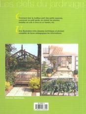 Petits Jardins - 4ème de couverture - Format classique