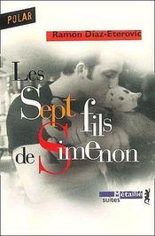 Les sept fils de Simenon - Couverture - Format classique