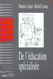 De l'éducation spécialisée - Intérieur - Format classique