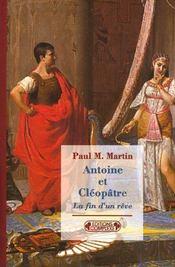 Antoine Et Cleopatre - Intérieur - Format classique