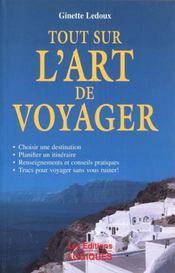 L'Art De Voyager - Intérieur - Format classique