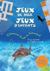 Jeux de mer, jeux d'enfants - Couverture - Format classique