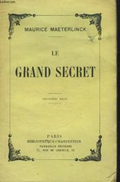 Le Grand Secret - Couverture - Format classique