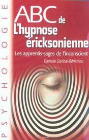 Abc de l'hypnose ericksonienne - Intérieur - Format classique