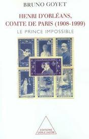 Henri D'Orleans, Comte De Paris (1908-1999) - Intérieur - Format classique