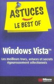 Windows Vista. les meilleurs trucs, astuces et secrets rigoureusement sélectionnés - Intérieur - Format classique