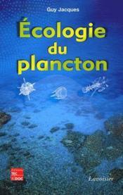 Écologie du plancton - Couverture - Format classique