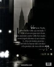 La lumière de New York - 4ème de couverture - Format classique
