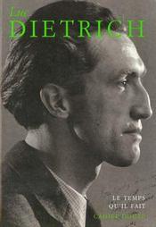 Cahier Dietrich - Intérieur - Format classique