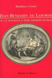 Jean-Benjamin de Laborde - Intérieur - Format classique