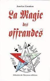 Magie Des Offrandes - Couverture - Format classique