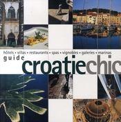 Guide croatie chic - Intérieur - Format classique