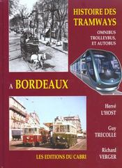 Histoire Des Tramways A Bordeaux - Intérieur - Format classique