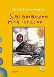 Salamandre mon trésor - Couverture - Format classique