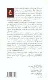 Nuit sur Bayreuth - 4ème de couverture - Format classique