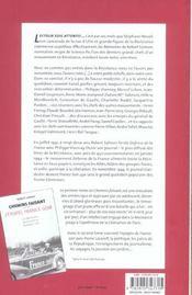 Chemins Faisant, Tome 1 : Vers La Resistance - 4ème de couverture - Format classique