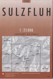 Sulzfluh ; landeskarte der schwetz - Couverture - Format classique