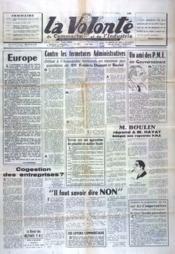 Volonte Du Commerce Et De L'Industrie (La) N°165 du 01/06/1962 - Couverture - Format classique