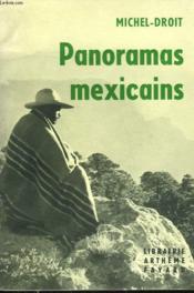 Panoramas Mexicains. - Couverture - Format classique