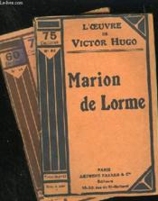MARION DE LORME - N° 43 et 44 - Couverture - Format classique